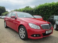 2011 MERCEDES-BENZ C-CLASS 2.1 C220 CDI BLUEEFFICIENCY SE EDITION 125 4d AUTO 170 BHP £9999.00
