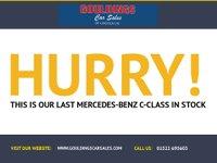 USED 2011 61 MERCEDES-BENZ C-CLASS 2.1 C220 CDI BLUEEFFICIENCY SE EDITION 125 4d AUTO 170 BHP MERCEDES-BENZ SERVICE HISTORY - SEE IMAGES