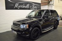 USED 2010 10 LAND ROVER RANGE ROVER SPORT 3.0 TDV6 HSE 5d AUTO 245 BHP NAV - LEATHER - LUX ALLOYS - 6 STAMPS TO 87K MILES