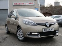 2014 RENAULT GRAND SCENIC 1.5 DYNAMIQUE TOMTOM DCI EDC 5d 110 BHP £8950.00