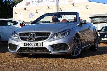 2013 MERCEDES-BENZ E CLASS 3.0 E350 BLUETEC AMG SPORT 2d 252 BHP £14750.00