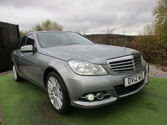 2012 MERCEDES-BENZ C CLASS 2.1 C220 CDI BLUEEFFICIENCY ELEGANCE 5d 168 BHP £7690.00