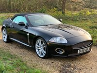 USED 2008 58 JAGUAR XK 4.2 CONVERTIBLE 2d AUTO 294 BHP Heated Seats, Ful Leather, S/H