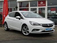 USED 2017 67 VAUXHALL ASTRA 1.6 SRI CDTI S/S 5d 134 BHP STUNNING, NEW SHAPE, LOW MILEAGE, VAUXHALL ASTRA SRI 1.6 CDTI S/S. Finished in SUMMIT WHITE with contrasting grey cloth interior. This practical family hatch is enjoyable to drive and has a good level of equipment in its well designed interior. The balance of its 3 year warranty should give you adequate peace of mind until 2020. Features include, DAB, B/Tooth, Alloys, Low miles, Front and Rear Park Sensors, Cruise and much more.
