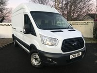 USED 2016 16 FORD TRANSIT 350 RWD 2.2 125 BHP L3 H3 TWIN SIDE LOADING DOORS  **Choice of 70 VANS**