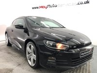 USED 2016 66 VOLKSWAGEN SCIROCCO 2.0 R LINE TDI BLUEMOTION TECHNOLOGY 2d 150 BHP *** SAT NAV ***