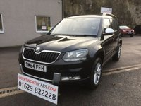 USED 2015 64 SKODA YETI 2.0 OUTDOOR S TDI CR 5d 109 BHP *STUNNING**1 FORMER KEEPER**RECENT CAM BELT KIT*
