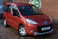 USED 2011 11 PEUGEOT PARTNER 1.6 TEPEE S HDI 5d 92 BHP WE OFFER FINANCE ON THIS CAR