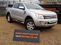 USED 2015 65 FORD RANGER 2.2 LIMITED 4X4 DCB TDCI 4d 150 BHP