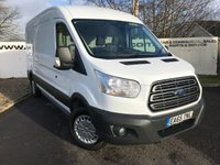 USED 2015 65 FORD TRANSIT 350 RWD 2.2 125 BHP TREND L3 H2 **70 VANS IN STOCK**