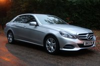 USED 2013 13 MERCEDES-BENZ E CLASS 2.1 E220 CDI SE 4d AUTO 168 BHP