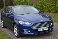USED 2016 66 FORD MONDEO 2.0 TITANIUM TDCI 5d 148 BHP 1 OWNER FFSH SAT NAV BLUETOOTH CRUISE DAB RADIO PARK AIDS TAX £30