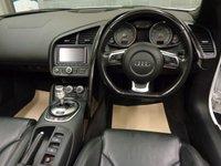 USED 2011 61 AUDI R8 4.2 SPYDER V8 QUATTRO 2d AUTO 430 BHP