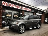 USED 2005 05 LAND ROVER RANGE ROVER SPORT 2.7 TDV6 HSE 5d AUTO 188 BHP