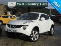 USED 2012 62 NISSAN JUKE 1.6 ACENTA 5d 117 BHP Great Value Funky Crossover