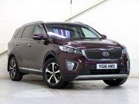 2016 KIA SORENTO 2.2 CRDI KX-2 ISG 5d AUTO 197 BHP [4WD] [7 SEATS] £21992.00