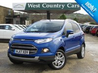 USED 2017 17 FORD ECOSPORT 1.0 TITANIUM 5d 124 BHP Well Equipped SUV