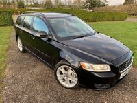 USED 2010 10 VOLVO V50 2.0 D SE 5d AUTO 136 BHP Full Volvo + Specialist History MINT! Full Volvo And Specialist Service History, Only One Owner, Full Leather Upholstery, Heated Seats, MOT 11/19, Recently Serviced, X4 Matching Goodyear Efficent Grip Tyres With 5mm +  Cd/Stereo/Aux In, Unmarked Alloys, Cruise Control, Full Onboard Trip Computer, Dimming Rear View Mirror, X2 Tyres, Bluetooth Handsfree, A Seriously Clean And Tidy Example, Passionately Maintained By Previous Owner, Full Volvo And Specialist Service History,X2 Keys, FullCarpet Mat Set, Bought Directly From Previous Own