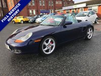 USED 2001 PORSCHE BOXSTER  3.2 986 S 2dr A Very Clean Example FSH