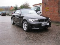 USED 2012 62 BMW 1 SERIES 2.0 120D EXCLUSIVE EDITION 2d 175 BHP