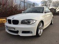 2010 BMW 1 SERIES 2.0 120D M SPORT 2d 175 BHP £7690.00