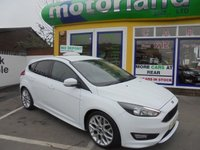 USED 2015 65 FORD FOCUS 1.5 ZETEC S 5d 148 BHP JUST ARRIVED NO DEPOSIT FINANCE