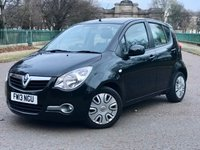 USED 2013 13 VAUXHALL AGILA 1.2 S AC 5d AUTOMATIC. VERY LOW MILEAGE RARE SMALL AUTOMATIC 5 DOOR WITH LOW MILEAGE AND FULL HISTORY!