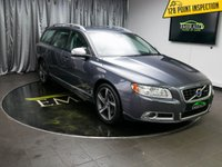 USED 2012 12 VOLVO V70 2.4 D5 R-DESIGN 5d AUTO 212 BHP £0 DEPOSIT FINANCE AVAILABLE, AIR CONDITIONING, AUX INPUT, CLIMATE CONTROL, CRUISE CONTROL, ELECTRONIC PARKING BRAKE, FULL R DESIGN LEATHER UPHOLSTERY, PARKING SENSORS, STEERING WHEEL CONTROLS, TRIP COMPUTER