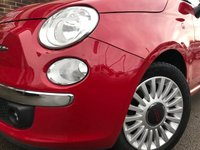 USED 2010 10 FIAT 500 1.3 MultiJet Lounge (s/s) 3dr OCT 19 MOT~ 8 SERVICE STAMPS