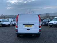 USED 2013 13 MERCEDES-BENZ VITO 2.1 113 CDI LWB FRIDGE FREEZER TEMP CONTROLLED LONG LWB, FRIDGE FREEZER VAN, FDSH, ONE PREVIOUS OWNER