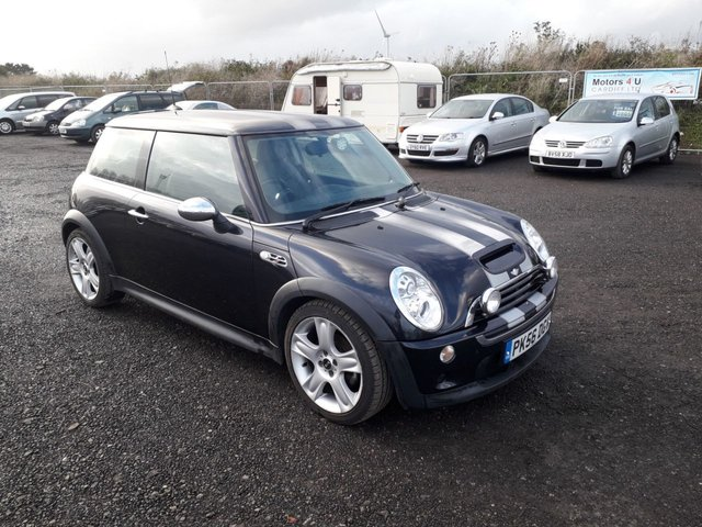 2006 56 MINI HATCH COOPER S 1.6 COOPER S 3d 168 BHP