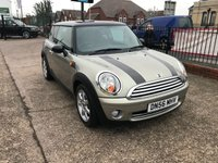 USED 2006 56 MINI HATCH COOPER 1.6 COOPER 3d 118 BHP FULL SERVICE HISTORY 10 STAMPS-ONLY 66,000 MILES-A/C