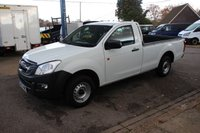 2013 ISUZU D-MAX 2.5 TD SCB 1d 164 BHP LWB SINGLE CAB 4X2  2 DOOR PICKUP £11995.00
