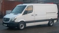 2014 MERCEDES-BENZ SPRINTER 2.1 313 CDI MWB LOW/ROOF  1d 129 BHP £300 CASH BACK IN DECEMBER!!! 1 OWNER F/S/H 2 KEYS / FREE 12 MONTHS WARRANTY COVER // £10490.00