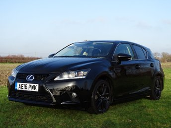 2016 LEXUS CT 1.8 200H SPORT 5d AUTO 134 BHP £16995.00