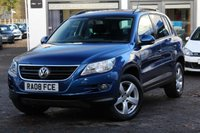 USED 2008 08 VOLKSWAGEN TIGUAN 2.0 TDI 140ps 4Motion Escape 4WD SUV 1 LADY OWNER FROM NEW ** FULL VW DEALER SERVICE HISTORY WITH 10 STAMPS **