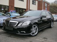 USED 2011 MERCEDES-BENZ E CLASS 2.1 E250 CDI BLUEEFFICIENCY SPORT ED125 5d AUTO 204 BHP