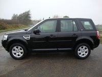 USED 2012 62 LAND ROVER FREELANDER 2 2.2 TD4 GS 5d AUTO 150 BHP freelander 2, 2.2td4 GS in black with grey cloth interior