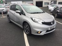 2015 NISSAN NOTE 1.2 ACENTA 5d 80 BHP £5750.00