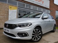 USED 2017 17 FIAT TIPO 1.6 MULTIJET LOUNGE 5d 118 BHP FREE ROAD TAX DIESEL ESTATE WITH ALL THE TOYS....SUPER VALUE