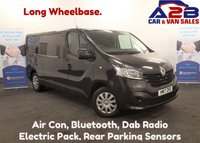 USED 2017 17 RENAULT TRAFIC 1.6 BUSINESS PLUS DCI 120 BHP, Long Wheelbase, Air Con, Bluetooth, Rear Parking Sensors, AUX, Dab Radio, and more **Drive Away Today** Over The Phone Low Rate Finance Available, Just Call us on 01709 866668**