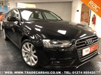 USED 2018 13 AUDI A4 AVANT  2.0 TDI SE TECHNIK 7 SPEED AUTO DIESEL ESTATE UK DELIVERY* RAC APPROVED* FINANCE ARRANGED* PART EX