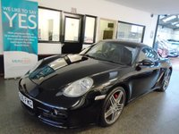 USED 2006 06 PORSCHE CAYMAN 3.4 24V S 2d 295 BHP Privately owned, service history, advisory free Mot till September 2019. Finished in Metallic Basalt Black with full Black leather.