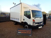 2011 NISSAN CABSTAR 2.5 35.13 MWB CURTAIN SIDE 2d 130 BHP  £6990.00