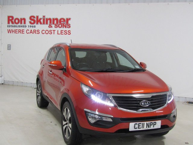 View our 2011 11 KIA SPORTAGE 2.0 FIRST EDITION 5d 160 BHP
