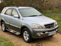 USED 2005 05 KIA SORENTO 2.5 XE CRDI 5d AUTO 139 BHP Alloy Wheels, Long M.O.T