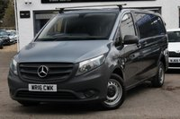 USED 2016 08 MERCEDES-BENZ VITO 2.1 114 BLUETEC AUTO LWB PANEL VAN 1d 136 BHP AUTOMATIC 1 OWNER ** FULL SERVICE HISTORY ** FINANCE AVAILABLE ** PX WELCOMED