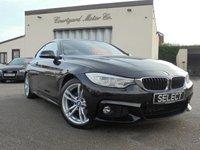 2015 BMW 4 SERIES 2.0 420D M SPORT 2d AUTO 181 BHP £17995.00