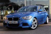 USED 2012 62 BMW 1 SERIES 1.6 116I M SPORT 5d 135 BHP