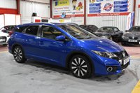 USED 2015 65 HONDA CIVIC 1.6 I-DTEC SR TOURER 5d 118 BHP